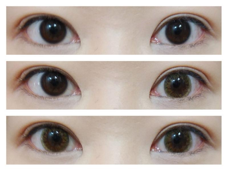 両目の画像