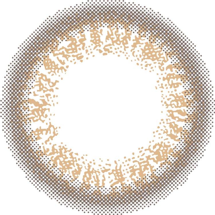 アンバーブライトのレンズデザインの画像