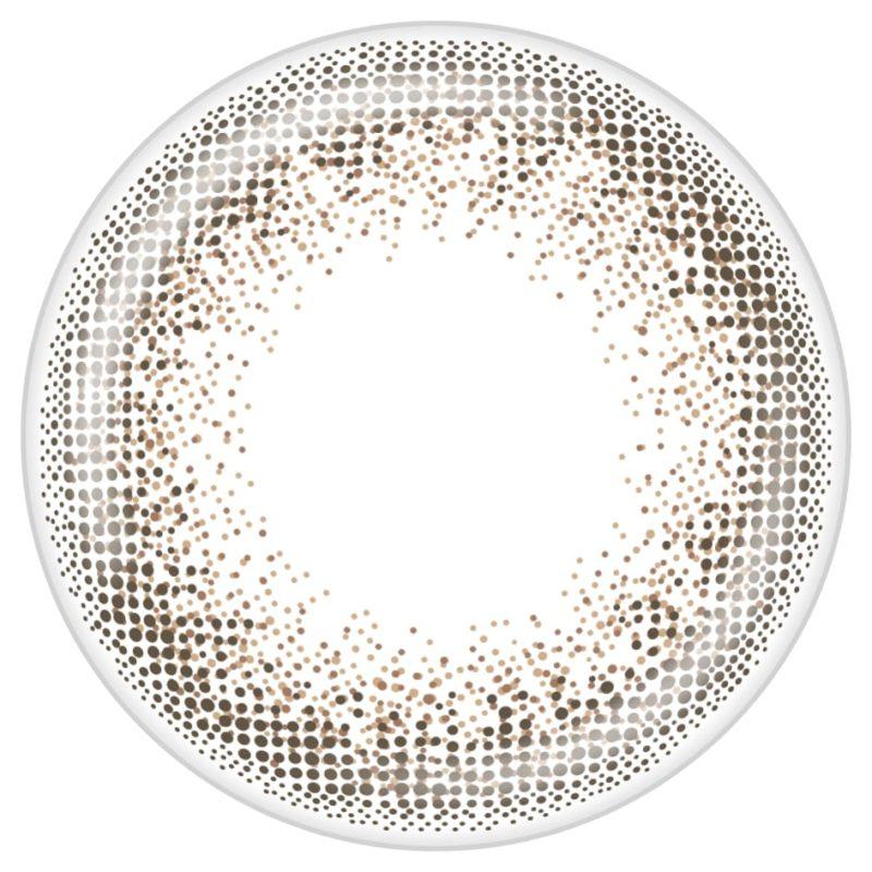 アンティークブロンズのレンズデザイン画像