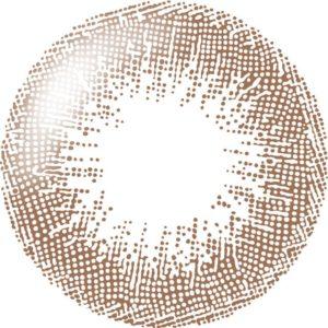 シャインブラウンのレンズデザイン画像
