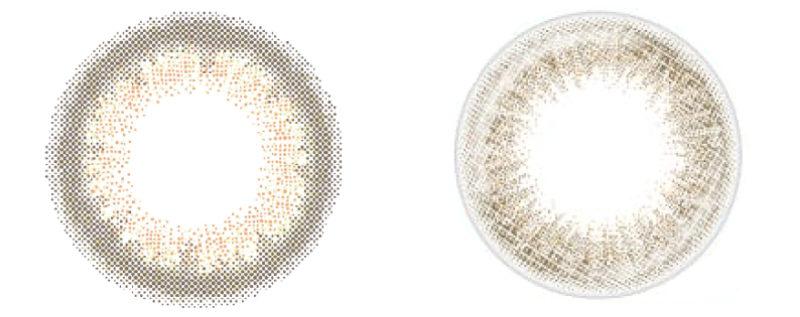 ハーフ系カラコンのイメージ画像