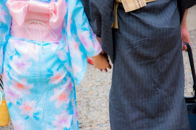 花火大会デートの画像