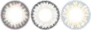 ブルー系カラコンのデザート画像
