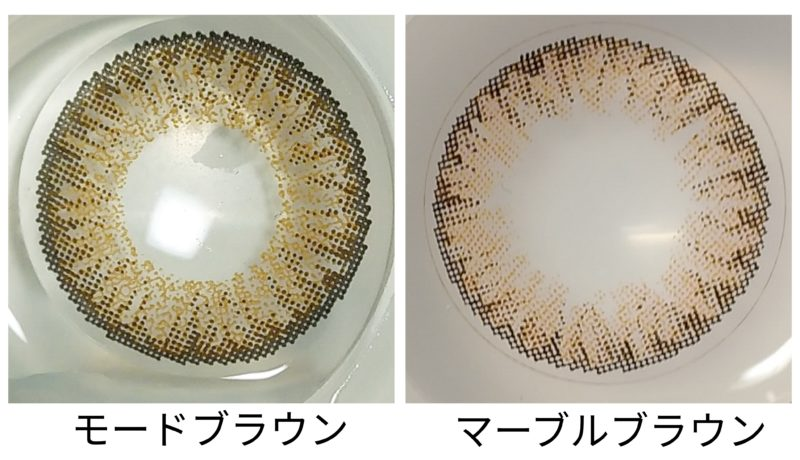 レンズの比較画像