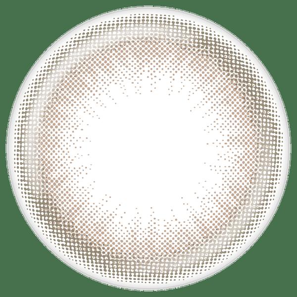 スタンダードブラウン(13.2㎜)のレンズデザイン画像