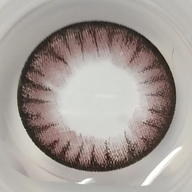 フラワーピンクのレンズ画像