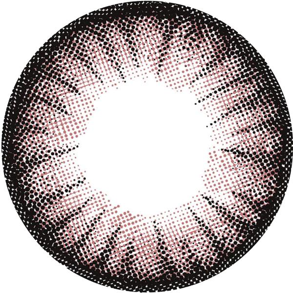 フラワーピンクのレンズデザイン画像