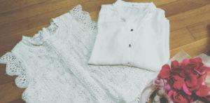 白い服の画像
